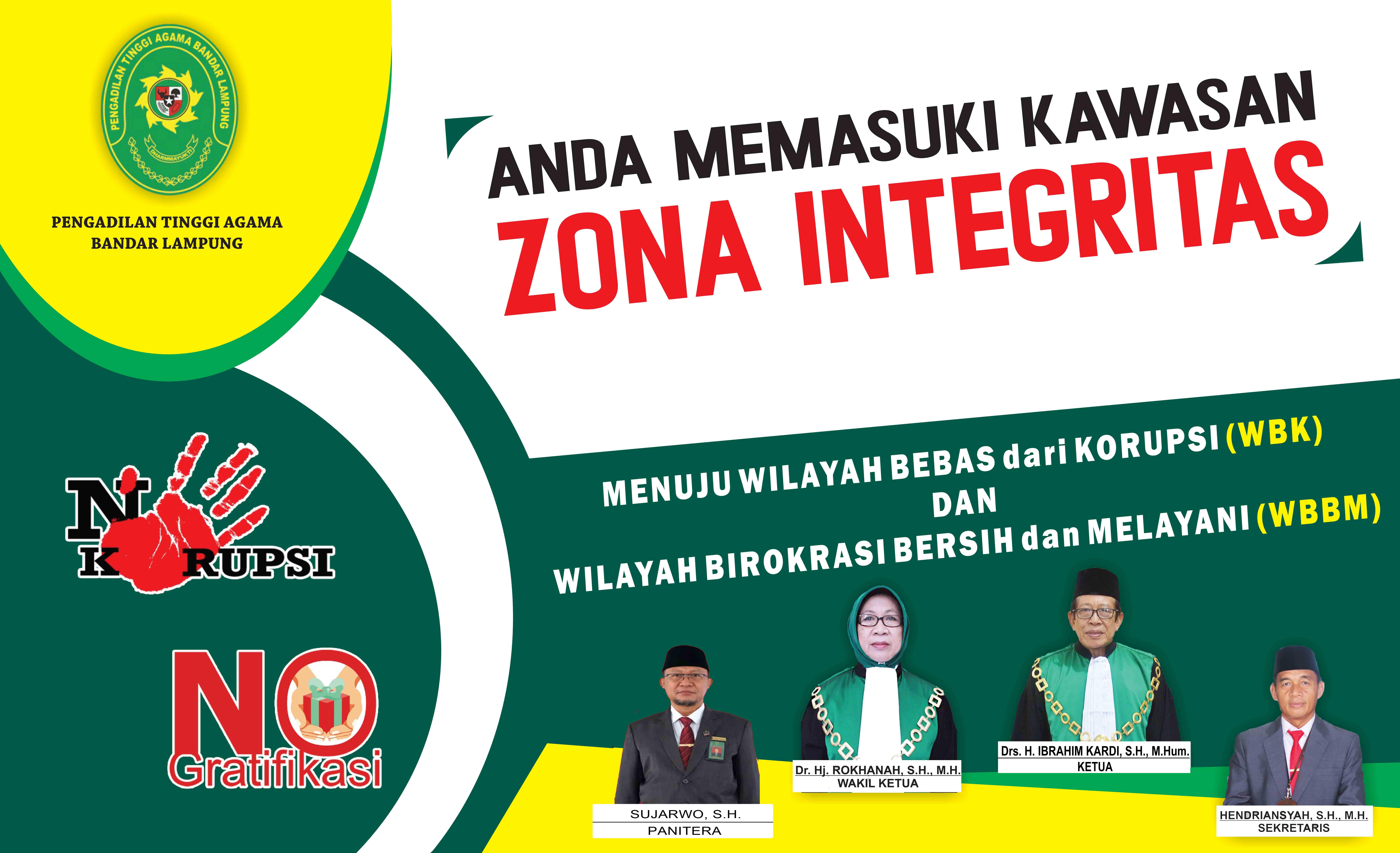 PTA Bandar Lampung Menuju Zona Integritas
